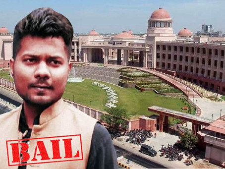 Bail granted to journalist Prashant Kanojia by Allahabad High Court.