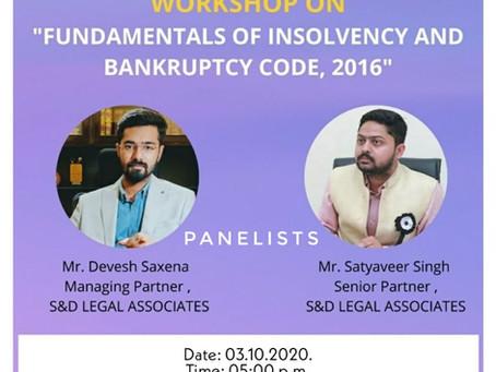 "Online Workshop on ""Fundamentals of IBC, 2016"""