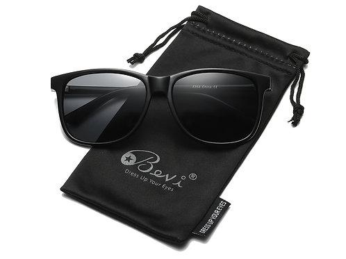 Bevi Unisex Polarized Sunglasses Wayfarer UV400 Brand Designer Sun glasses