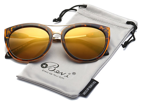 Polarized Sunglasses for Women by Bevi with UV Protection & Designer Style
