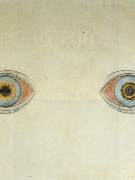 """August Natterer. """"Meine Augen"""""""