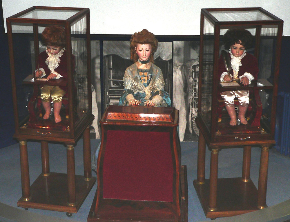 Writing and music playing automata by 18th century craftsman Pierre Jaquet-Droz