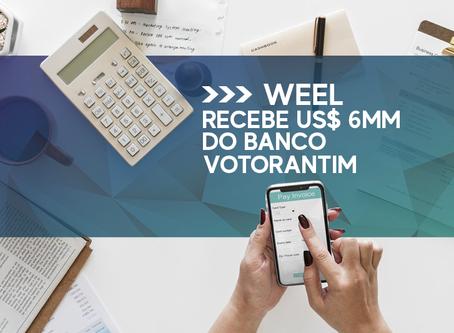 WEEL - Fintech de IA de antecipação de recebíveis recebe US$ 6MM do Banco Votorantim