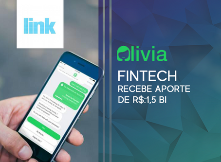 Fintech Olivia recebe aporte de R$ 1,5 milhão do BR Startups
