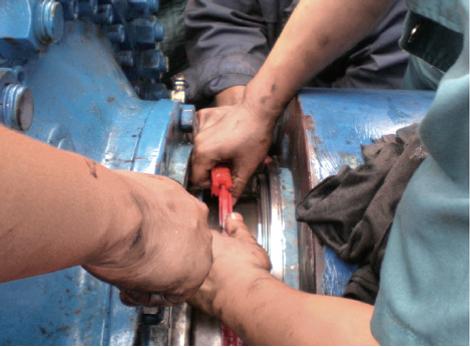 Split bearing seal Kem-tron sealing