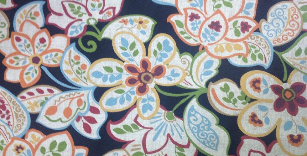 Dorothee Ebony Outdoor Fabric