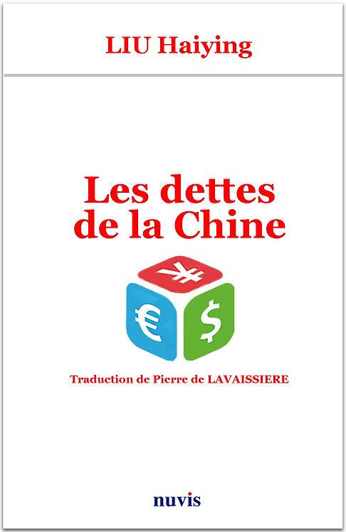 Couverture du livre Les dettes de la Chine publié aux Editions Nuvis en vente sur notre librairie en ligne