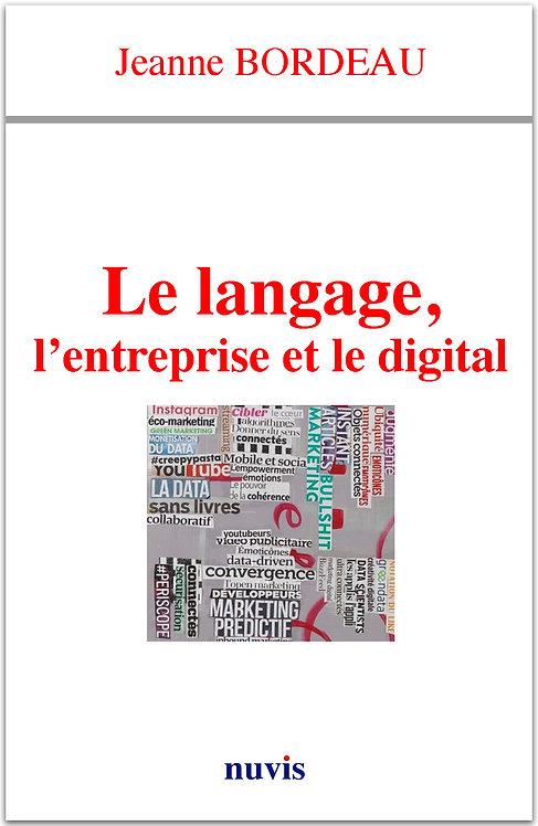 Le langage, l'entreprise et le digital