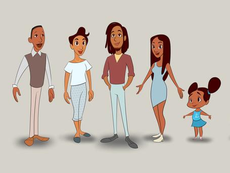 "Characters, ""Amaya Meets her Family"" (TBA)"