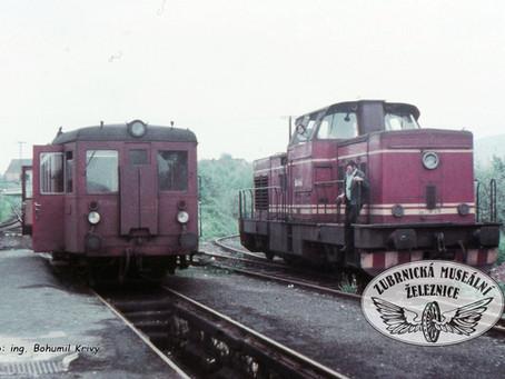 Z historie - poslední nákladní vlak