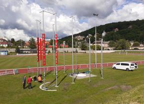 Velká rekonstrukce atletického stadionu začala, máme novou klec na kladivo a další žhavé novinky.