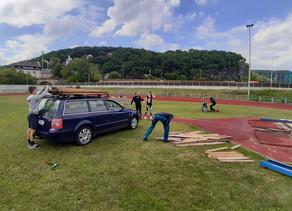 FOTO: Jak probíhá rekonstrukce stadionu?