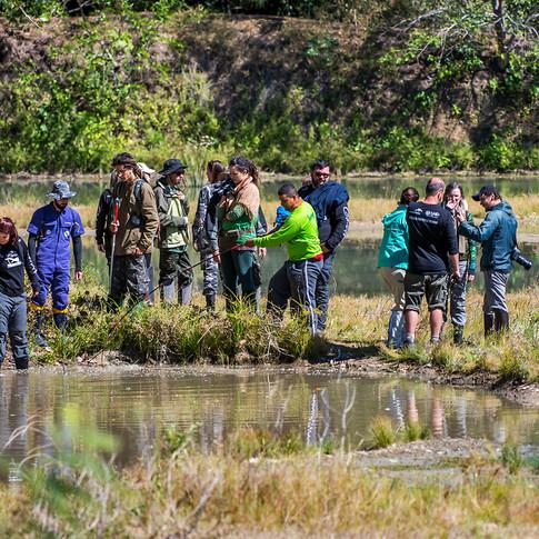 Expedição Pantanal - Equipe em campo