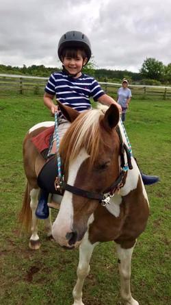 Charlie on horse