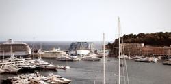 - Mirage on the sea -