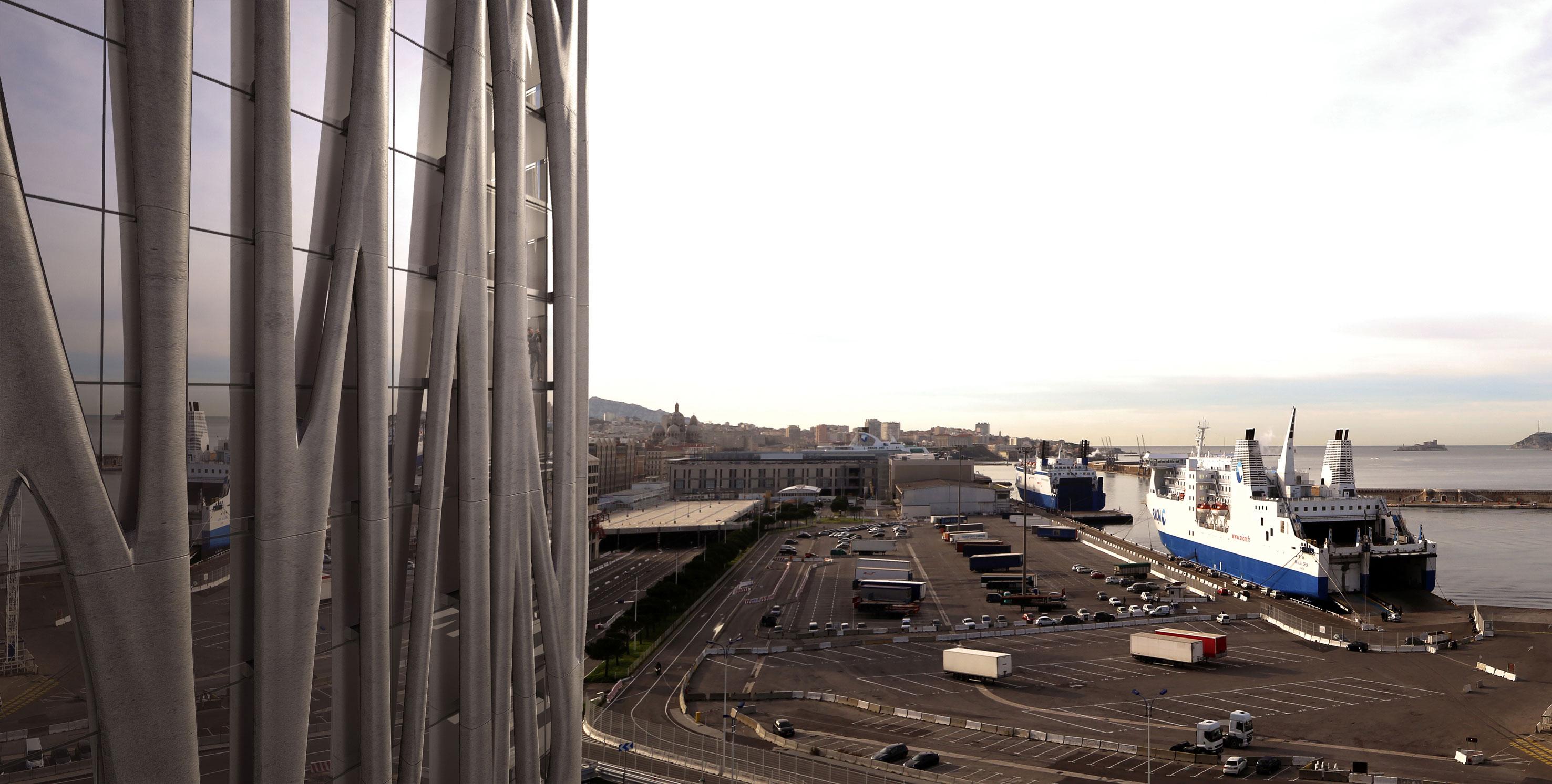 - Docks landscape -
