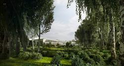 - Fantasy garden -
