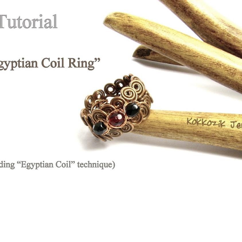 """""""Ägyptische Ring"""" Schmuckkurs"""