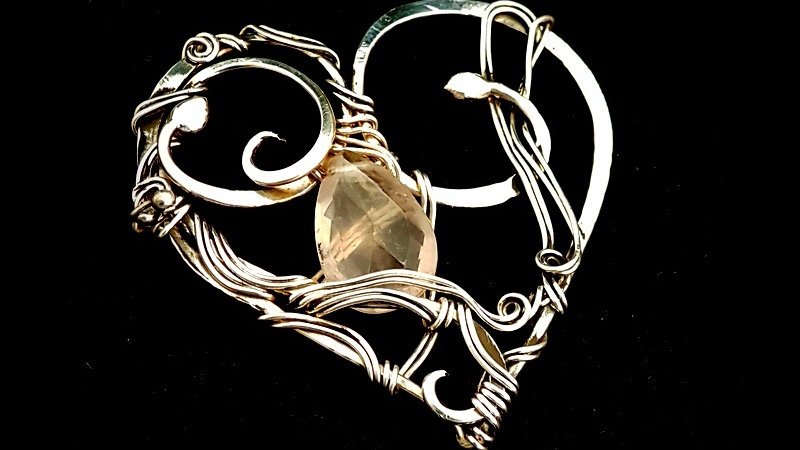 Silber Herzanhänger