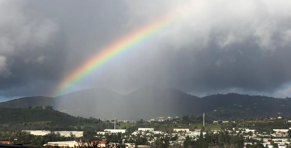 Rainbow over Escondido