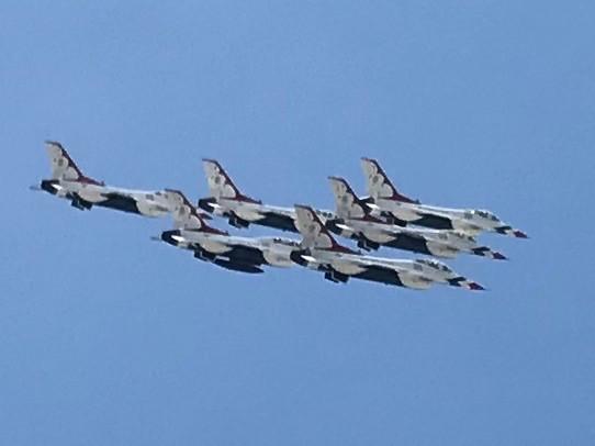 Thunderbird Fly Over Escondido