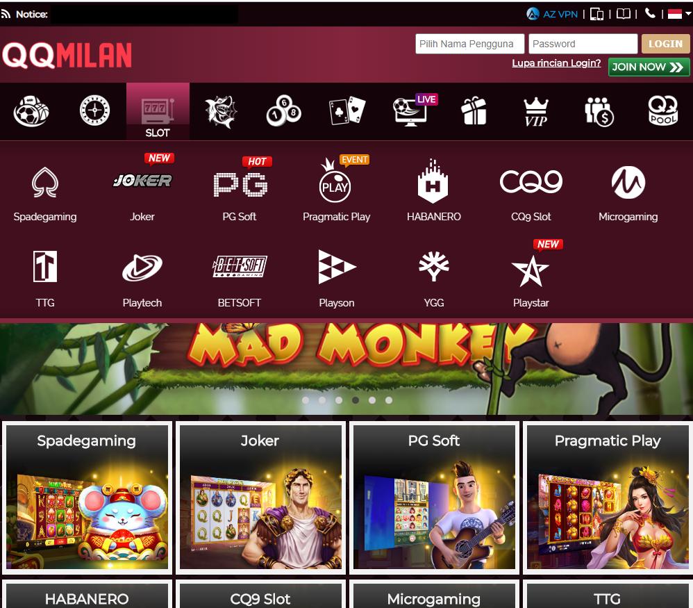Permainan Slot Online Terbaru, Makin Seru Bersama Dengan Situs Slot Online Terpercaya QQMILAN