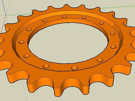 Modelo de Engrenagem
