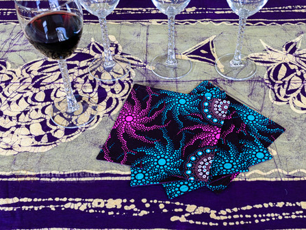 Make an Impression With Cloth Cocktail Napkins
