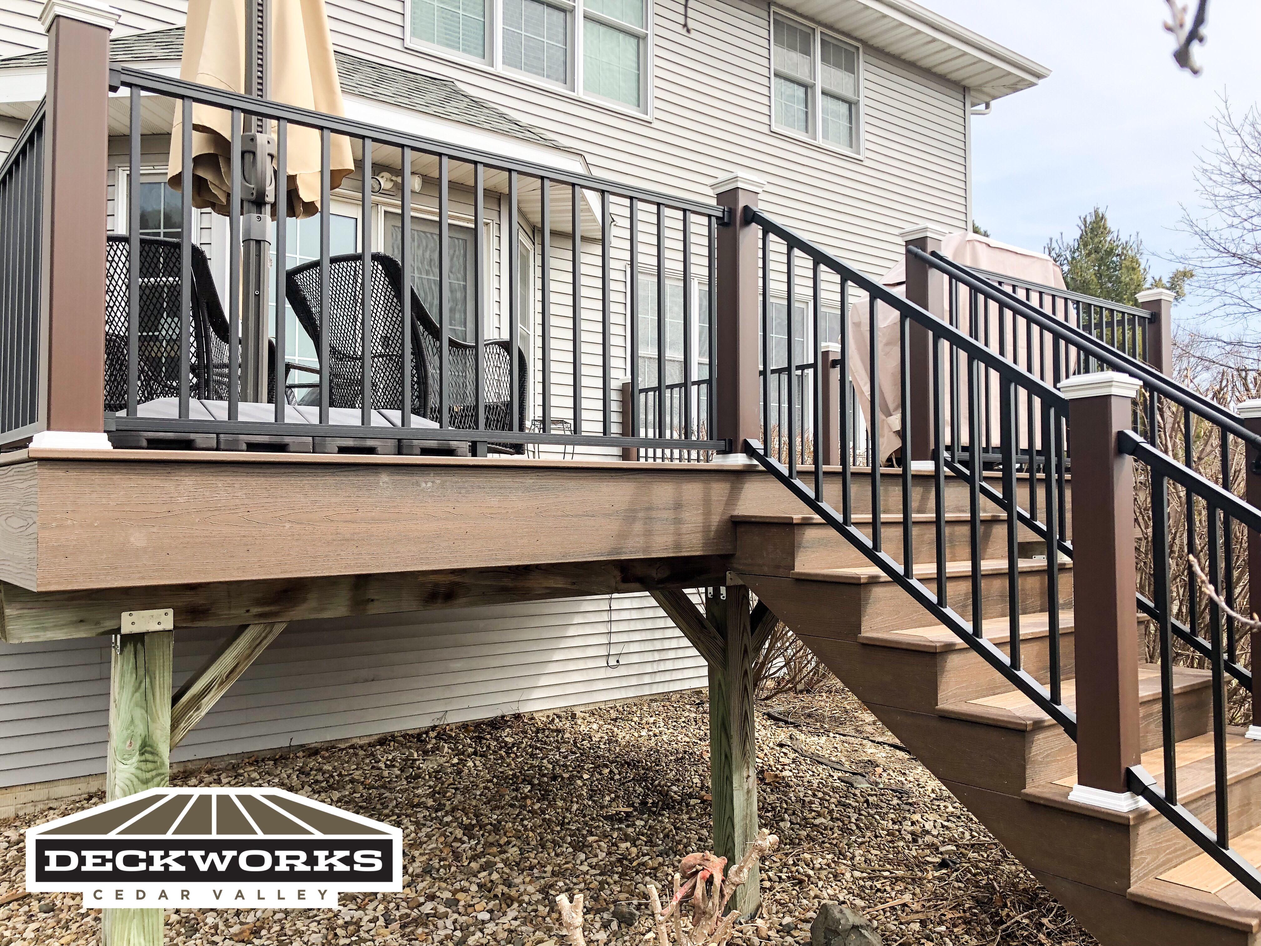 Trex Signature railing