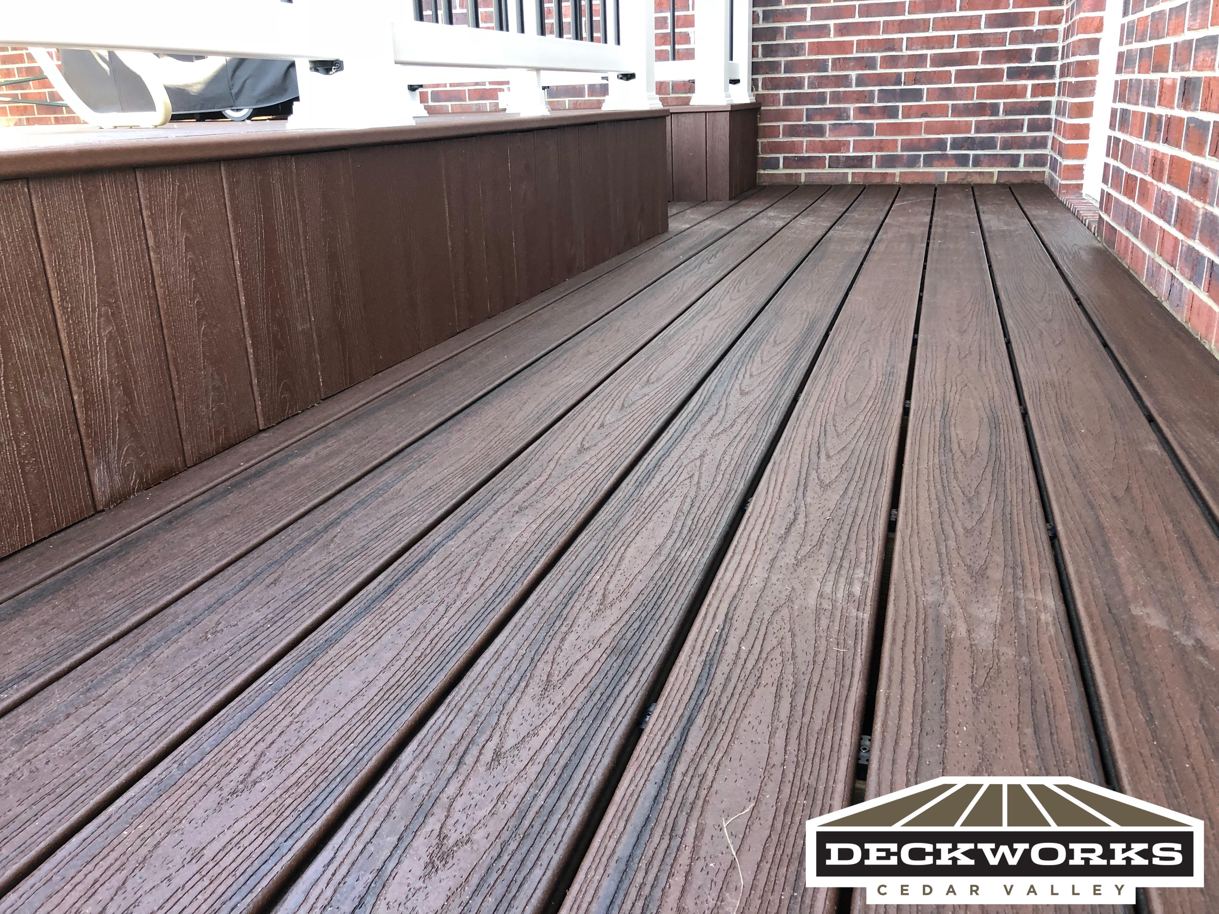 Low maintenance deck