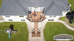 Trex Transcend Tiki Torch Deck