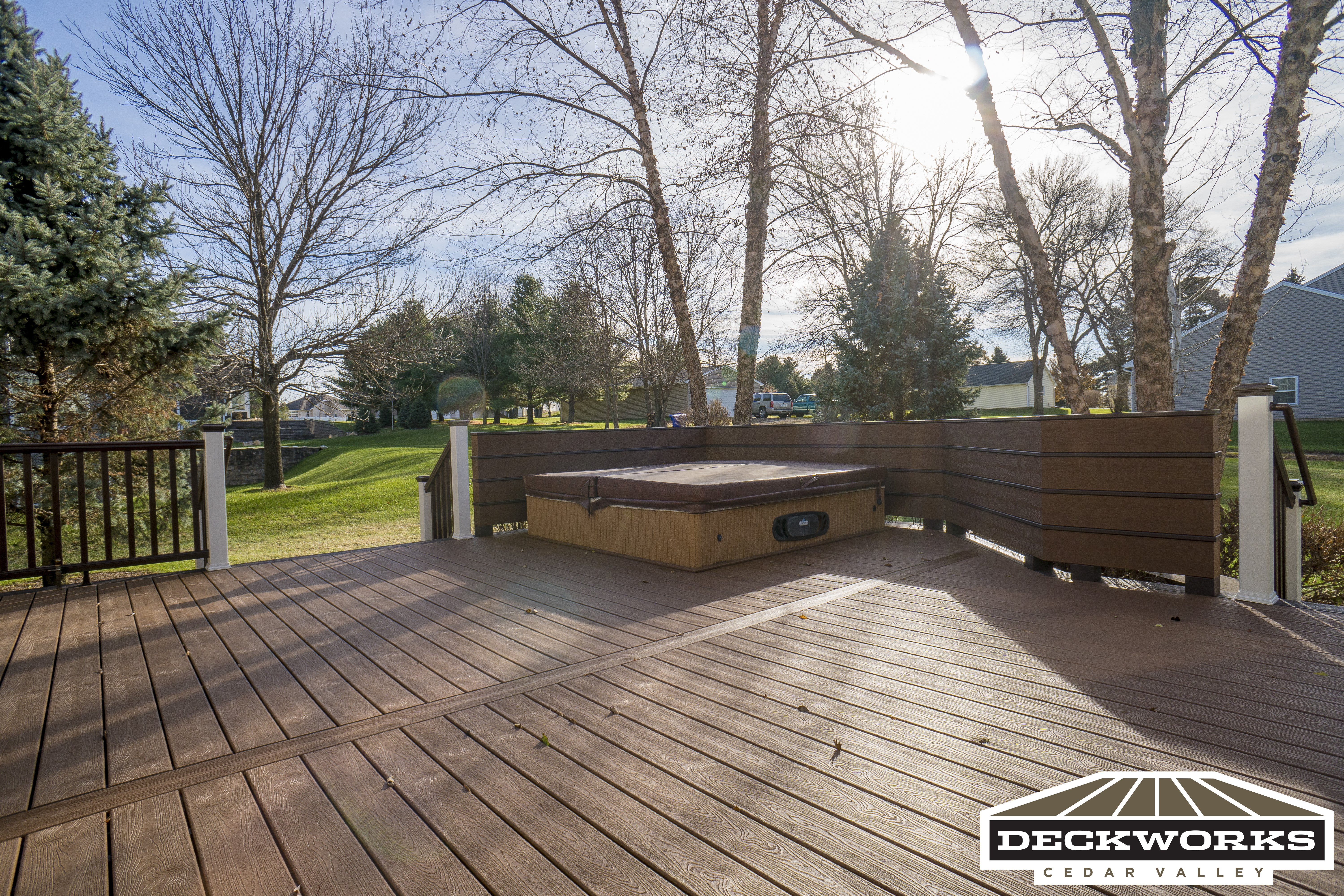 Trex Tree House Deck and railing