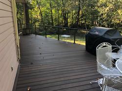 Mid Century Modern Trex Deck