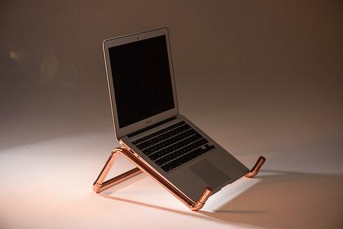 Pipe & Wire Bakır Notebook Standı