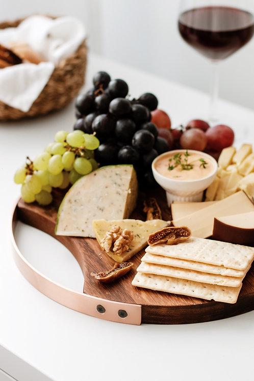 Iroko Yuvarlak Peynir Servisi