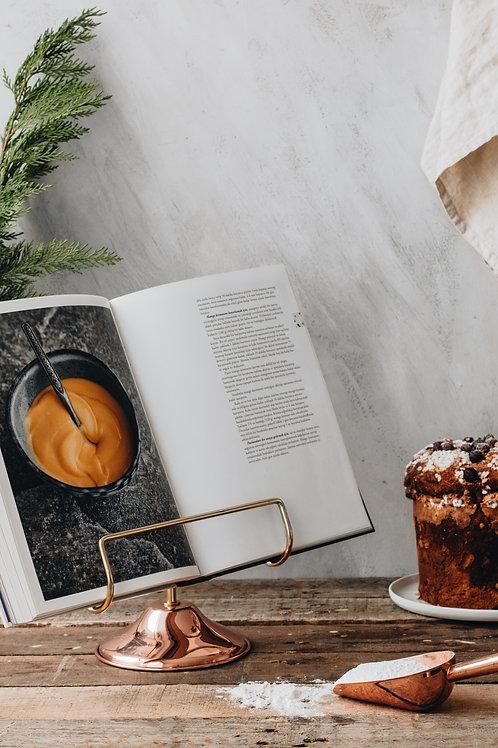 Kitchenart Bakır Yemek Kitabı Askısı
