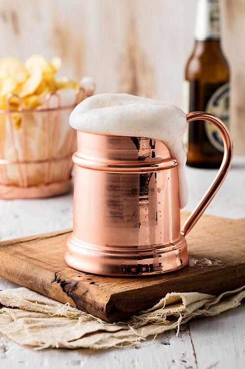 Musketeers Bakır Bira Bardağı