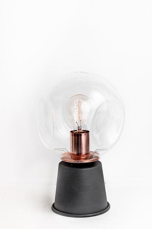 Sphere Bakır Masa Lambası Siyah