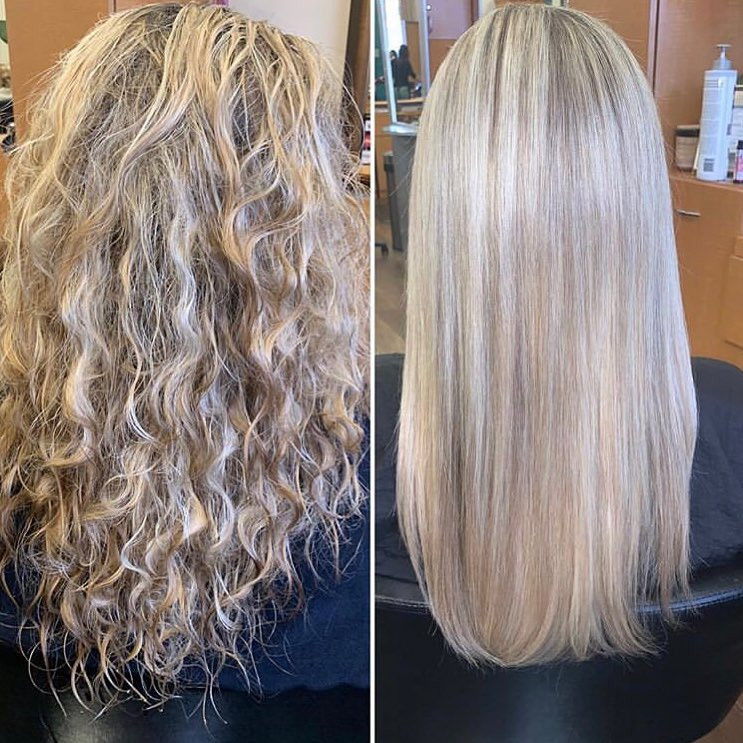Brazilian Blowout before and after!