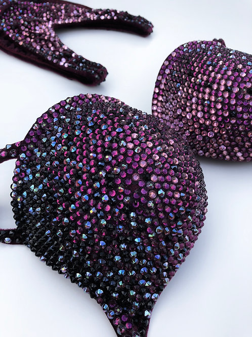 Bedazzled by Manouq diep paars