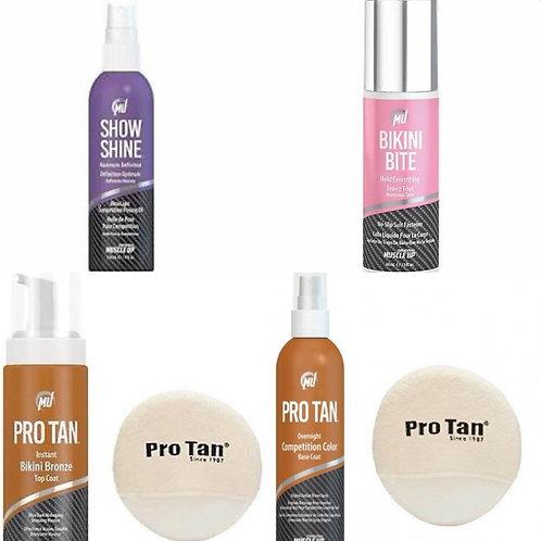 Complete set Pro Tan