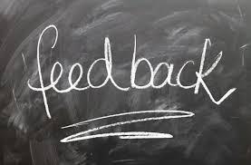 Feedback is critical to corporate efficiency. Le Feedback est essentiel pour l'efficacité opérationnelle