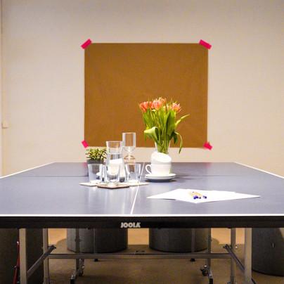 Meetingraum Tisch