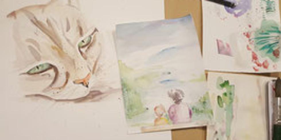 Workshop: Aquarell- und Acrylmalerei