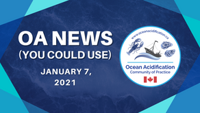 OA News (You Could Use) Jan. 7, 2021