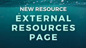 New Resource: External Resources Page