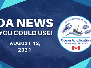OA News (You Could Use) Aug. 12, 2021
