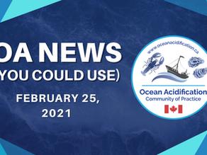 OA News (You Could Use) Feb. 25, 2021