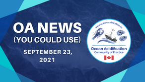 OA News (You Could Use) September 24th, 2021