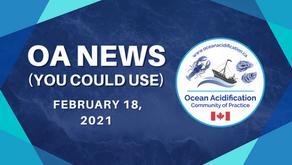 OA News (You Could Use) Feb. 18, 2021